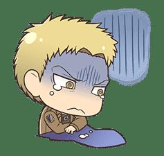 Attack on Titan Chimi-Chara Ver. sticker #47019