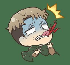 Attack on Titan Chimi-Chara Ver. sticker #47023