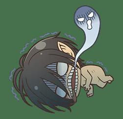 Attack on Titan Chimi-Chara Ver. sticker #47031