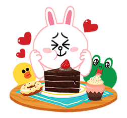 LINE Characters: Cuter Is Better sticker #69858