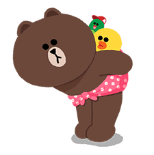 LINE Characters: Cuter Is Better sticker #69882