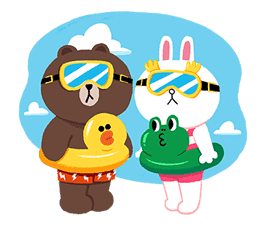 LINE Characters: Cuter Is Better sticker #69887