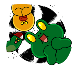LINE Characters: Burning Emotion sticker #1317049