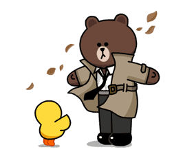 LINE Characters: Burning Emotion sticker #1317052