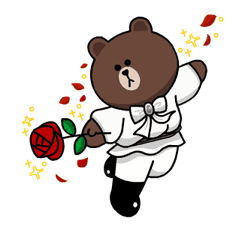 LINE Characters: Burning Emotion sticker #1317060