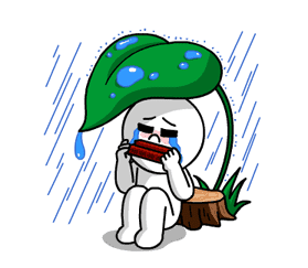LINE Characters: Burning Emotion sticker #1317061