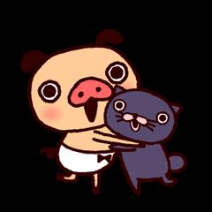 PANPAKA PANTS - Animated Stickers