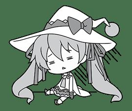 Hatsune Miku SNOW MIKU Collection sticker #3583073