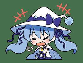 Hatsune Miku SNOW MIKU Collection sticker #3583077