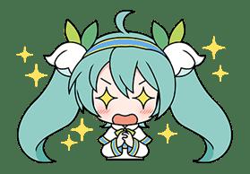Hatsune Miku SNOW MIKU Collection sticker #3583078