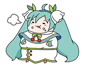 Hatsune Miku SNOW MIKU Collection sticker #3583089