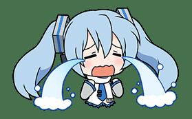 Hatsune Miku SNOW MIKU Collection sticker #3583092