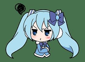 Hatsune Miku SNOW MIKU Collection sticker #3583094