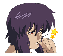 GHOST IN THE SHELL STAND ALONE COMPLEX sticker #4474504