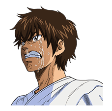 Ace of Diamond sticker #5138051