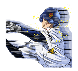 Ace of Diamond sticker #5138063