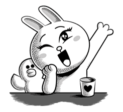 LINE Characters: Hamming It Up sticker #5607180