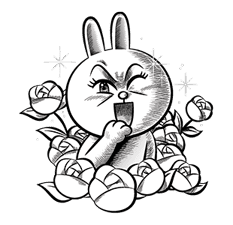 LINE Characters: Hamming It Up sticker #5607182