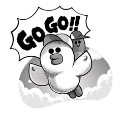 LINE Characters: Hamming It Up sticker #5607183