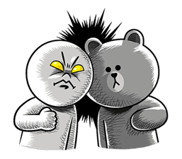 LINE Characters: Hamming It Up sticker #5607205