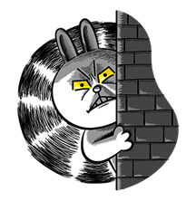 LINE Characters: Hamming It Up sticker #5607207