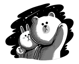 LINE Characters: Hamming It Up sticker #5607215