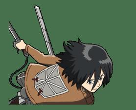 Moving! Attack on Titan sticker #6622238