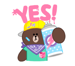 LINE Characters: Party Time sticker #6829300