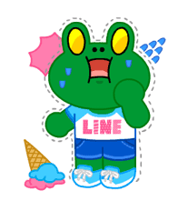 LINE Characters: Party Time sticker #6829302