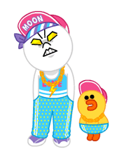 LINE Characters: Party Time sticker #6829303