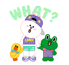 LINE Characters: Party Time sticker #6829314