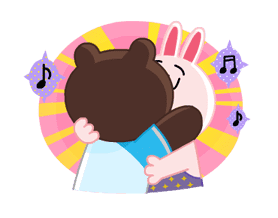 LINE Characters: Party Time sticker #6829317