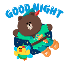 LINE Friends: Fairy Tales sticker #7670734