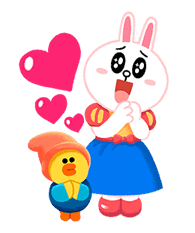 LINE Friends: Fairy Tales sticker #7670738