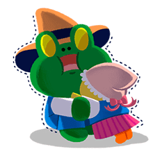 LINE Friends: Fairy Tales sticker #7670739