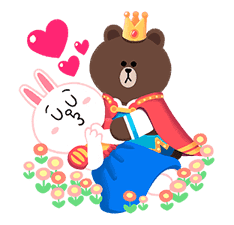 LINE Friends: Fairy Tales sticker #7670740