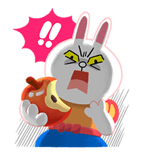 LINE Friends: Fairy Tales sticker #7670741