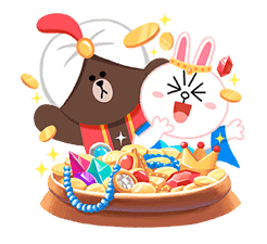 LINE Friends: Fairy Tales sticker #7670746