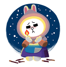 LINE Friends: Fairy Tales sticker #7670748