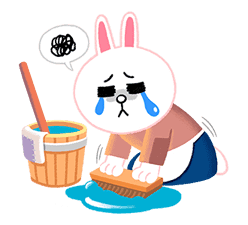 LINE Friends: Fairy Tales sticker #7670752