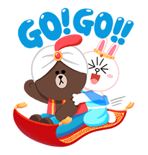 LINE Friends: Fairy Tales sticker #7670758