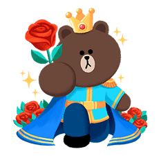 LINE Friends: Fairy Tales sticker #7670761