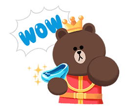 LINE Friends: Fairy Tales sticker #7670766