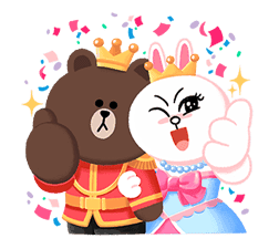 LINE Friends: Fairy Tales sticker #7670768