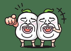 Daikon Bros sticker #2692