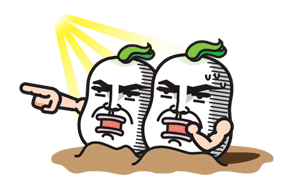 Daikon Bros sticker #2711