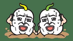 Daikon Bros sticker #2718