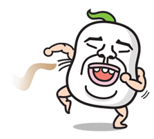 Daikon Bros sticker #2724