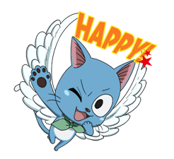 FAIRY TAIL Action Stickers! sticker #10346451