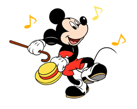 Mickey Mouse in Motion sticker #10467627